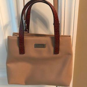 Mini Lauren Satchel/crossbody bag leather handles